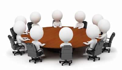 Round table meeting png - Asociaciones Zona Franca Puerto Plata
